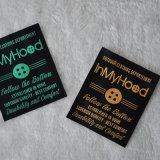 High Quality Highlightflat Woven Labels for Clothing/Garment/Apparel