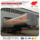 remorque de camion-citerne de transport d'huile d'arachide de la capacité 40000L semi