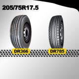 China Supplier New Trcuk Tire 205/75r17.5 225/75r17.5 245/70r17.5