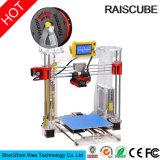 Impressora rápida acrílica de Fdm 3D do protótipo de Raiscube Reprap Prusa I3