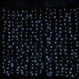 [لد] عيد ميلاد المسيح عرس زخرفة ستار ضوء