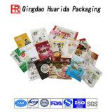 ジップロック式の平底の食糧プラスチック包装袋