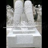 Надгробная плита Mem-501 Metrix Carrara мраморный каменного гранита мемориальная