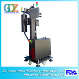 machine d'inscription de laser de fibre de 20W 30W et de 50W Ipg pour la pipe, le plastique de PVC/HDP/PE/CPVC et le métal