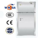 銀製カラー304物質的なステンレス製の機密保護の鋼鉄金属のドア(W-GH-08)