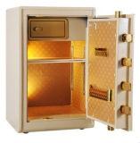 Nueva caja fuerte de lujo de la huella digital del oro para el uso de Ministerio del Interior