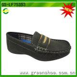2016 Sapatos de couro de imitação urbana para crianças crianças (GS-LF75353)