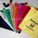 Bolsa de lavanderia de cordão de algodão de alta qualidade personalizada