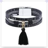 De Armband van het Leer van de Juwelen van het Leer van de Juwelen van de manier (LB650)
