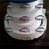 (KLP211) Emballage tressé de PTFE de presse-étoupe pur de teflon pour la soupape et la pompe