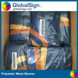 De in het groot Banner van het Netwerk van de Doek van de Schaduw van de Stof van de Polyester van de Reclame van de Douane Sublimatie Afgedrukte