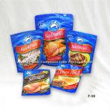 Drei Siegelrand Lebensmittel Taschen Die Cut-Tasche