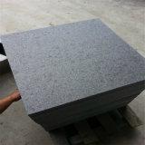 Prezzo di pietra naturale del controsoffitto della cucina del granito di colore nero
