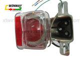 Ww-7107 Cg125 Luz traseira da motocicleta, luz traseira traseira,