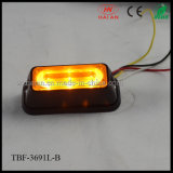 Alto potere Liner3 Amber LED Strobe Lights per Cars