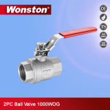 세륨을%s 가진 2PC Ball Valve 1000wog