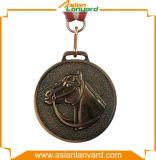 Médaille en métal de logo du modèle 3D de propriétaire