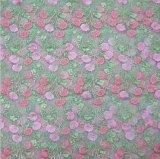 Hot Selling New Design borda tecido de renda de flor