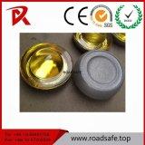 Roadsafeのトラフィック360度の緩和された道のマーカーのZnicの合金のアルミニウムガラス道のスタッド