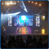 Afficheur LED polychrome d'intérieur de location pour des événements