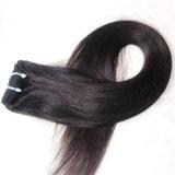 毛の拡張の100%のブラジル人のRemyのバージンの人間の毛髪クリップ