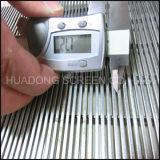 Экран сетки плоской проволоки сетки фильтра загиба сетки нержавеющей стали