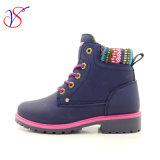 2017 de nieuwe Schoenen van de Laarzen van het Werk van de Veiligheid van de Vrouwen van de Mannen van de Injectie Werkende (BLAUW svwk-1609-013)