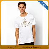 Magliette su ordinazione di marchio di prezzi di fabbrica per gli uomini
