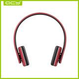 Auriculares estereofónicos de Qcy50 Bluetooth mini com cabo auxiliar empacotado