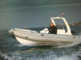 Aqualand 19feet 5.8m Fiberglass Rigid Inflatable Fishing Boat/Rib Motor Boat (RIB580S)