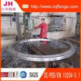 O aço de carbono do zinco forjou a flange da tubulação