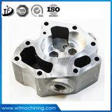 De mecanizado CNC cilindro hidráulico piezas del cabezal de procesamiento de carne de mecanizado CNC de Acero inoxidable y latón