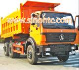 BEIBEN 6X4 25 Ton van de Vrachtwagen van de Kipwagen