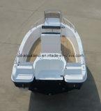 Barco de motor da fibra de vidro de Aqualand 21feet 6.3m/barco de pesca/barco prazer dos esportes (205c)