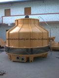 低雑音の円形の冷却塔(反対の流れ)