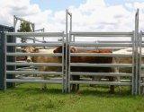 гальванизированная 6rails стальная панель конюшни лошади