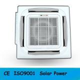 Condizionatore d'aria ibrido tipo a cassetta di energia solare del soffitto