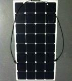 Panneau solaire semi flexible Bendable 100W de cellules de Sunpower de module de picovolte