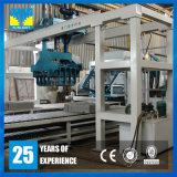 Deutschland-Qualitätsform-Schwingung-konkreter Kleber-Ziegelstein-Block, der Maschine herstellt