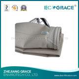 Bolso de filtro de acrílico de la antioxidación para el colector de polvo del cemento
