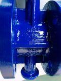 Клапан Butterly фланца Wcb шестерни глиста DIN Pn16