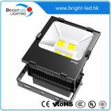 CER, RoHS Outdoor Fitting 100W LED Flood Light