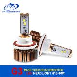 가장 새로운 디자인 자동 빛 40W 3600lm H13 H/L 크리 사람 LED 헤드라이트 6000k