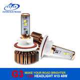 Faro di alta qualità 40W 3600lm LED di disegno più nuovo per H13
