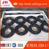 Flanges da junção de regaço de BS4504 Pn16 (flange do aço de carbono A105)