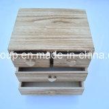 Contenitore di monili di legno personalizzato verniciato immaginazione fatto del MDF