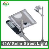 Im Freien 12W Solar-LED Straßenlaterneder gute Qualitätsfür Garten/neue Landschaft