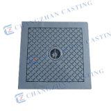 Tampas de câmara de visita Ductile quadradas En124 do ferro de molde A15 B125 C250 D400 E600 F900