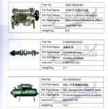 Sinotruck HOWO LKW-Ersatzteil-Selbstzusatzgeräten-Enge-Zylinderblock