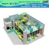 Крытые симпатичные спортивные площадки замока для игры детей (H14-0923)